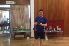 Consolation Gents singles winner: Andy Gall (Orchardhill)