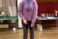 Consolation ladies singles runner up: Ruth Flockhart (Orchardhill)