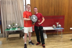 Gents Doubles Winners - Sam Hume & Martin Greig (Eaglesham)