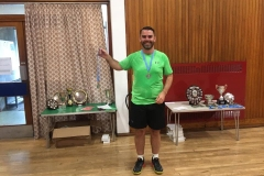 Gents doubles Runners Up - Stephen Hendry & Paul Molloy - (Eaglesham)