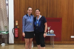 Ladies Doubles Runners Up - Lindsay McCall & Claire Rae (Greenbank and Old Parish)