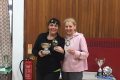 Ladies Doubles Winners - Susan Smith & Gillian Williamson (Old Parish and Eaglesham)