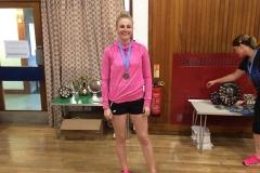 Ladies Singles Runner Up - Emma Sherry (Shawlands Trinity)