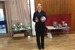 Ladies singles Winner - Helen Black (Orchardhill)