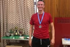 Men's Singles Runner Up - Martin Greig (Eaglesham)