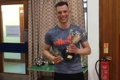 Men's Singles Winner - Mathias Kupiec (Greenbank)